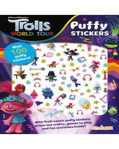Dreamworks Trolls World Tour Puffy Sticker Book