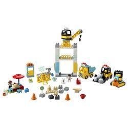 LEGO DUPLO Tower Crane & Construction Vehicle Toys 10933