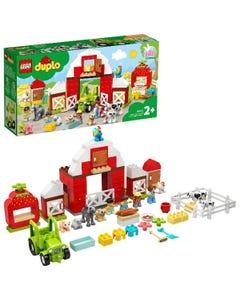 LEGO DUPLO Town Barn, Tractor & Farm Animal Care Playset 10952