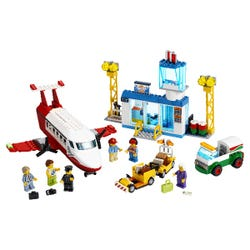 LEGO City 4+ Central Airport Charter Plane Toy 60261