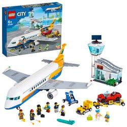 LEGO City Airport Passenger Airplane & Terminal Toy 60262