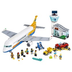 LEGO City Airport Passenger Airplane & Terminal Toy 60262