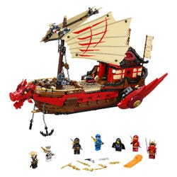 LEGO NINJAGO Legacy Destiny's Bounty Ship Set 71705