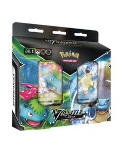 Pokemon TCG: Venusaur V & Blastoise V  Battle Deck Bundle