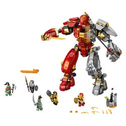 LEGO NINJAGO Fire Stone Mech Ninja Action Figure Toy 71720