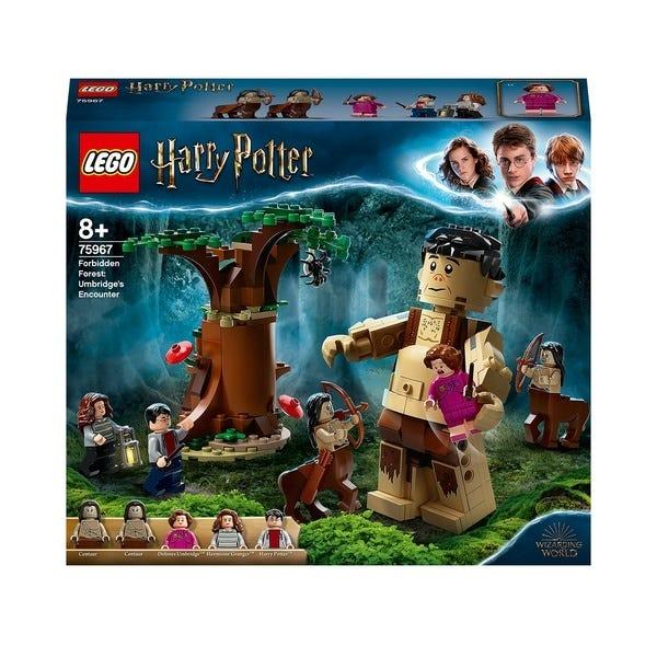LEGO Harry Potter Forbidden Forest Umbridges Act Set 75967