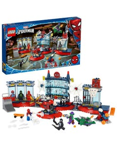 LEGO Marvel Attack on the Spider Lair
