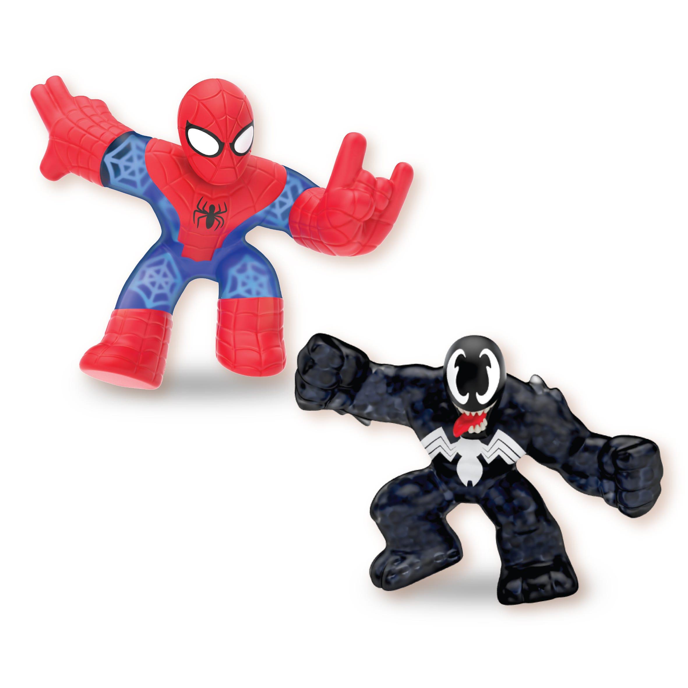 Heroes Of Goo Jit Zu Marvel Versus Pack   Spider Man Vs Venom