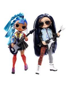 L.O.L. Surprise! O.M.G. Remix Rocker Boi And Punk Grrrl 2 Pack ? 2 Fashion Dolls With Music