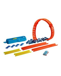 Hot Wheels Track Builder Adjustable Helix Pack