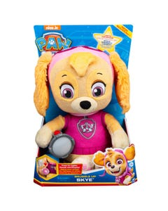 PAW Patrol Snuggle Up Skye Plush with Torch and Sounds