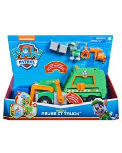 PAW Patrol Rocky's Reuse It Deluxe Truck with Collectible Figure and 3 Tools
