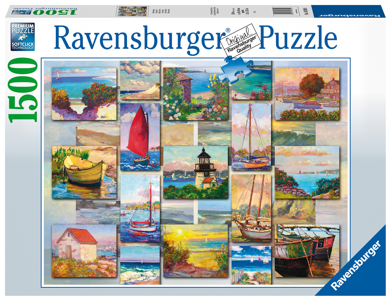 Ravensburger Coastal Collage 1500pc Jigsaw Puzzle