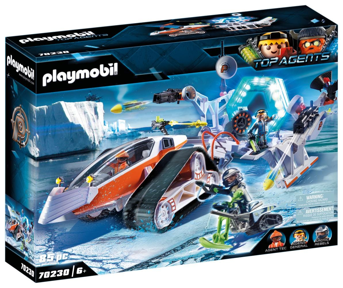 Playmobil 70230 Top Agent