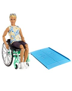 Barbie Ken Fashionista with  Wheelchair Accessory & Ramp