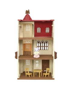 Sylvanian Families Red Roof Tower Home Gift Set