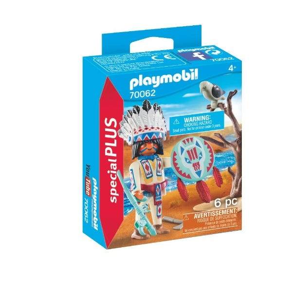 Playmobil 70062 Special Plus Native American Chief