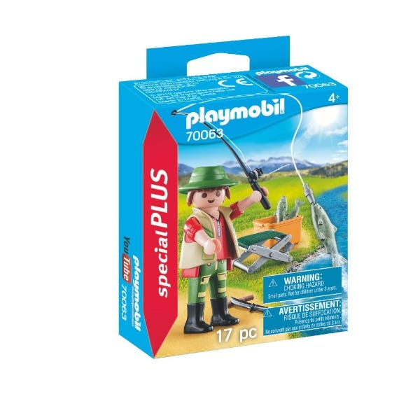 Playmobil 70063 Special Plus Fisherman