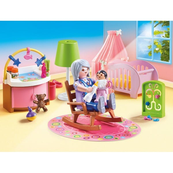 Playmobil 70210 Dollhouse Nursery