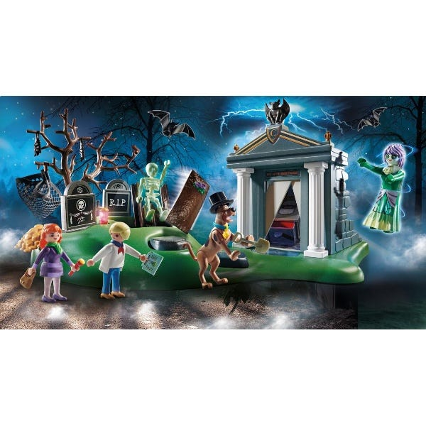 Playmobil 70362 Scooby Doo! Adventure On The Cemetery