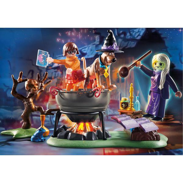 Playmobil 70366 Scooby Doo! Adventure In The WitchS Cauldron