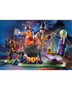 Playmobil 70366 Scooby-Doo! Adventure In The Witch'S Cauldron