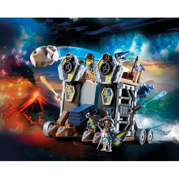 Playmobil 70391 Novelmore Knights Mobile Fortress With Water Cannon