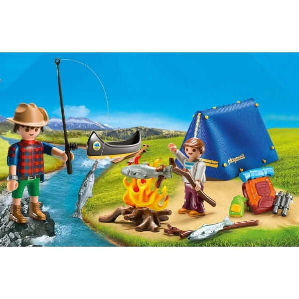 Playmobil 9323 Wildlife Camping Carry Case