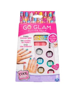 Cool Maker GO GLAM Glitter Nails DIY Activity Kit for 5 Manicures