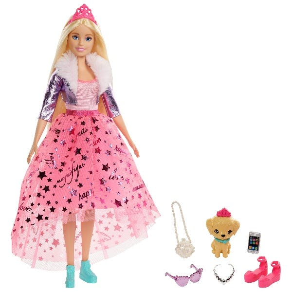 Barbie Princess Adventure Deluxe Princess Doll: Dog