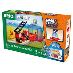 BRIO World - Smart Tech Sound Rescue Action Tunnel Kit
