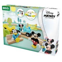 BRIO Disney Mickey Mouse Train Set