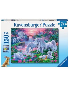 Ravensburger Unicorns in Sunset Glow XXL 150pc Jigsaw Puzzle
