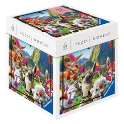 Ravensburger 99 Piece Puzzle Moments Jigsaw Puzzle - Llamas