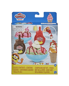 Play-Doh Kitchen Creations Double Drizzle Ice Cream Playset