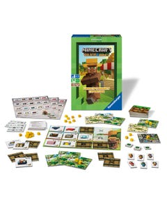 Ravensburger Minecraft Farming and Trading Game