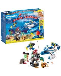 Playmobil 70776 Police Dive Advent Calendar