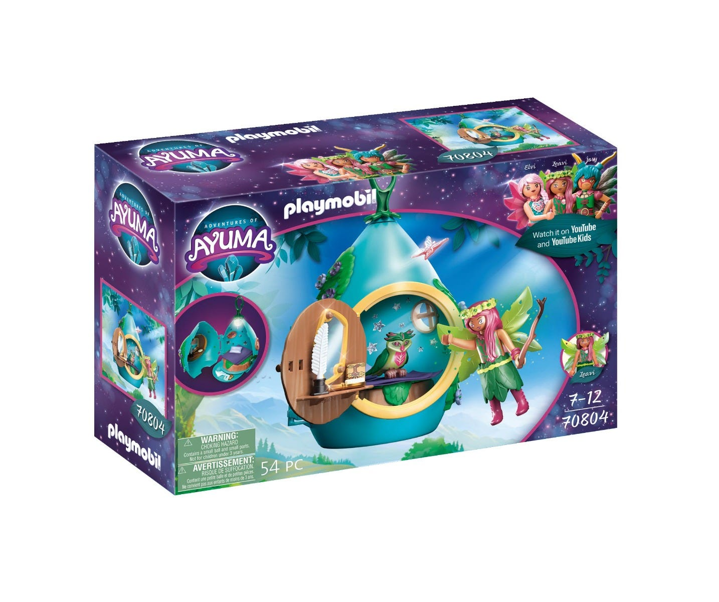 Playmobil 70804 Adventures Of Ayuma Fairy House