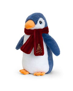 Keel Toys Keeleco Penguin W/Scarf (20cm)