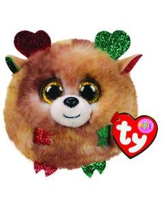TY Fudge Reindeer Puffies