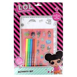 L.O.L. Surprise A4 Activity Set
