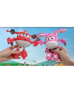 Super Wings Deluxe Supercharge Jett With Lights And Sounds