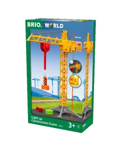 Brio World - Light Up Construction Crane