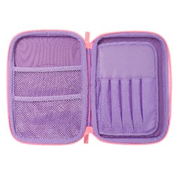 Smiggle Unicorn Lilac Pencil Case with Mirror - Sky Collection
