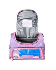Smiggle Unicorn Lilac Double-strap Lunchbox - Sky Collection