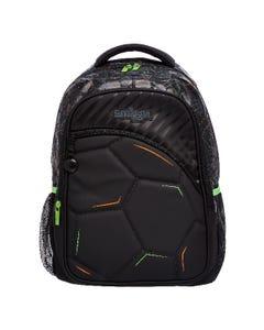 Smiggle Soccer Black Backpack - Kick Collection