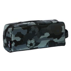 Smiggle Soccer Zip Pencil Case - Illusion Collection