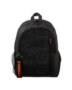 Smiggle Black Backpack - Smiggler Collection