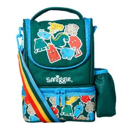 Smiggle Creatures Strapped Lunchbox - Junior Go Collection