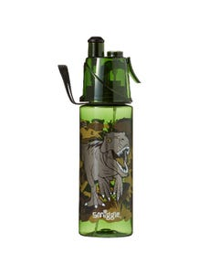 Smiggle Dual-function Green Dinosaurs Water Bottle